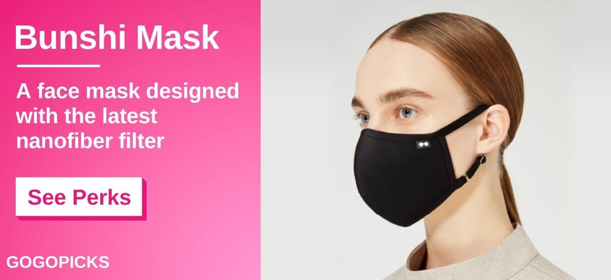 Bunshi Mask: Minimal, Stylish, and High: Spec — See Perks