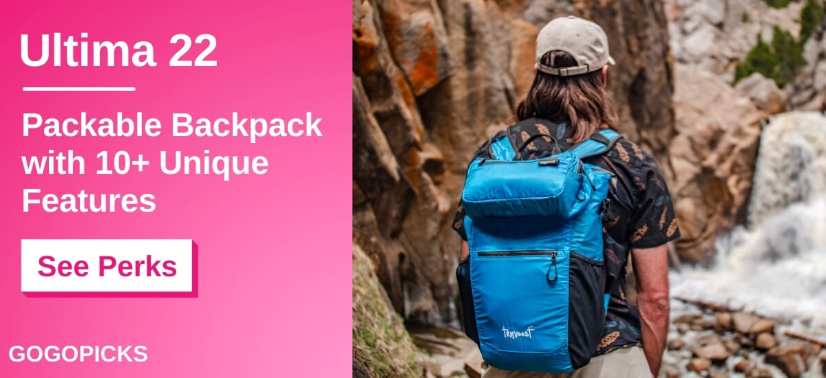 Ultima 22: Backpack with Detachable 3L Hip Pack — See Perks