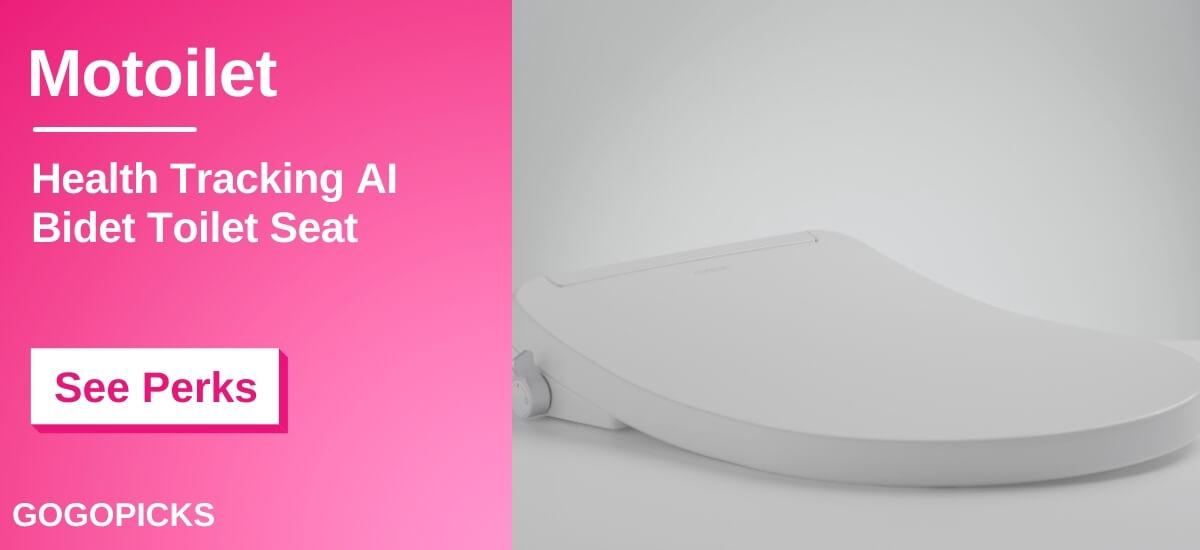 Motoilet: 1st Health Tracking AI Bidet Toilet Seat — See Perks