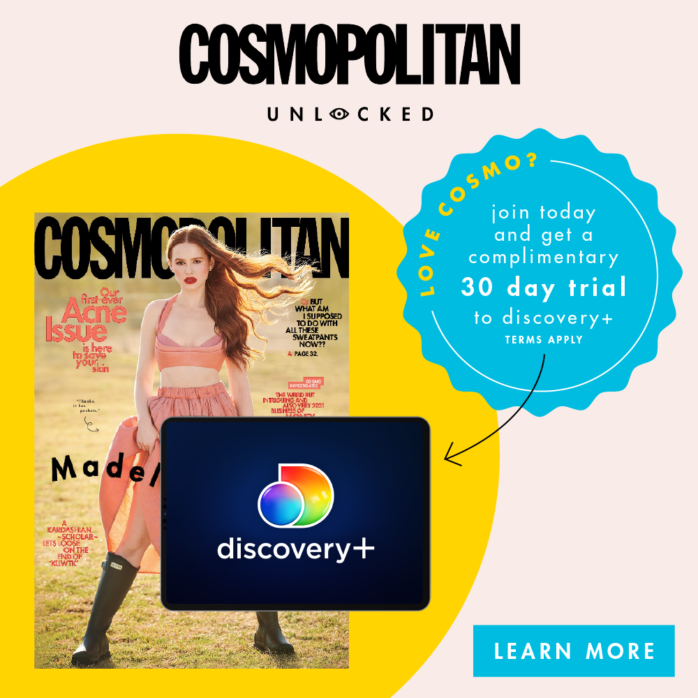 Get unlimited access to all the Cosmopolitan.com content your eyes can handle, plus exclusive bonus stories and a members-only newsletter in your inbox on the regular.