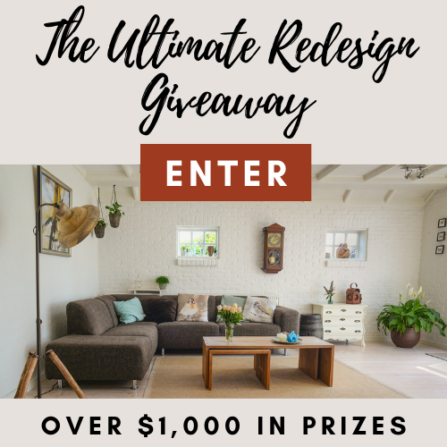 Win $1,000+ in Home Decor Prizes to Redesign Your Home!