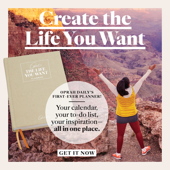 Make living well a daily practice with Oprah as your guide with a journal that will help you embrace the 12 values Oprah believes are essential to creating a life filled with joy.