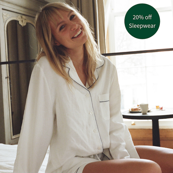 Sustainable Sleepwear You'll Never Want to Take Off... 😴