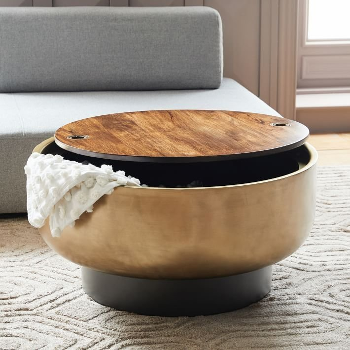 25 Clever Coffee Tables With Hidden Storage