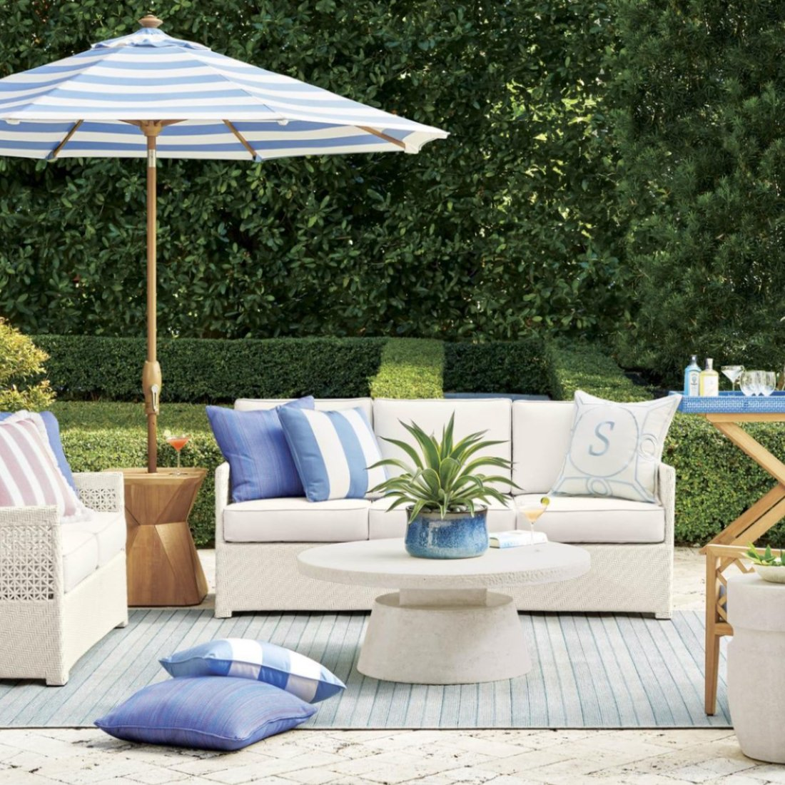 Frontgate's New Outdoor Furniture Collection Was Curated By House Beautiful Editors