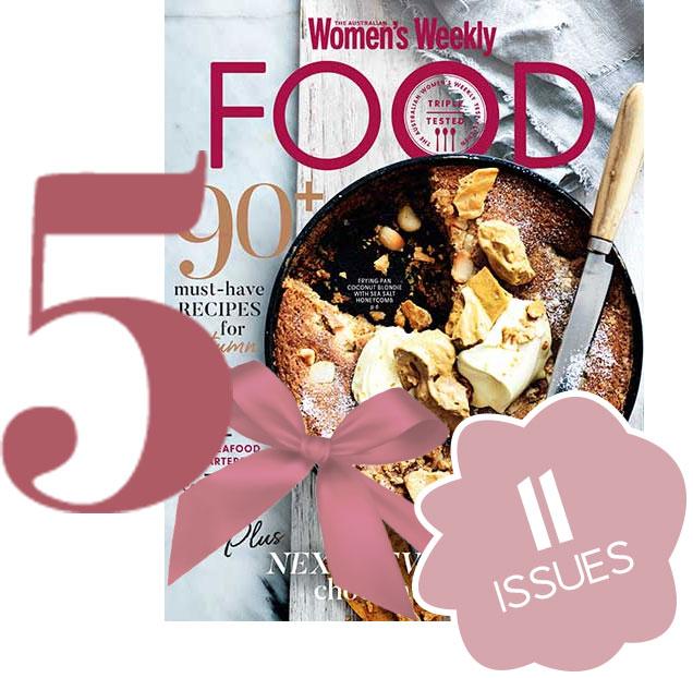 The Australian Women's Weekly FOOD Magazine