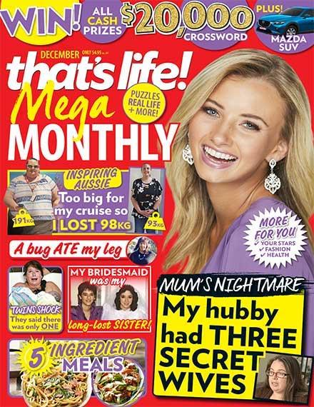 That's Life Mega Monthly Magazine