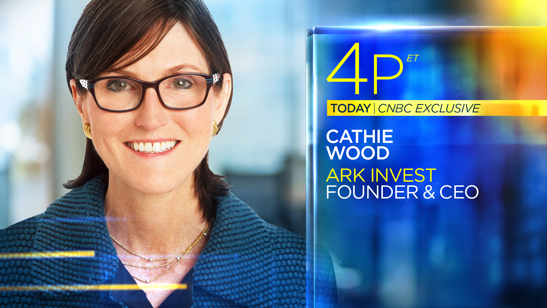 Watch Cathie Wood Live on the Closing Bell