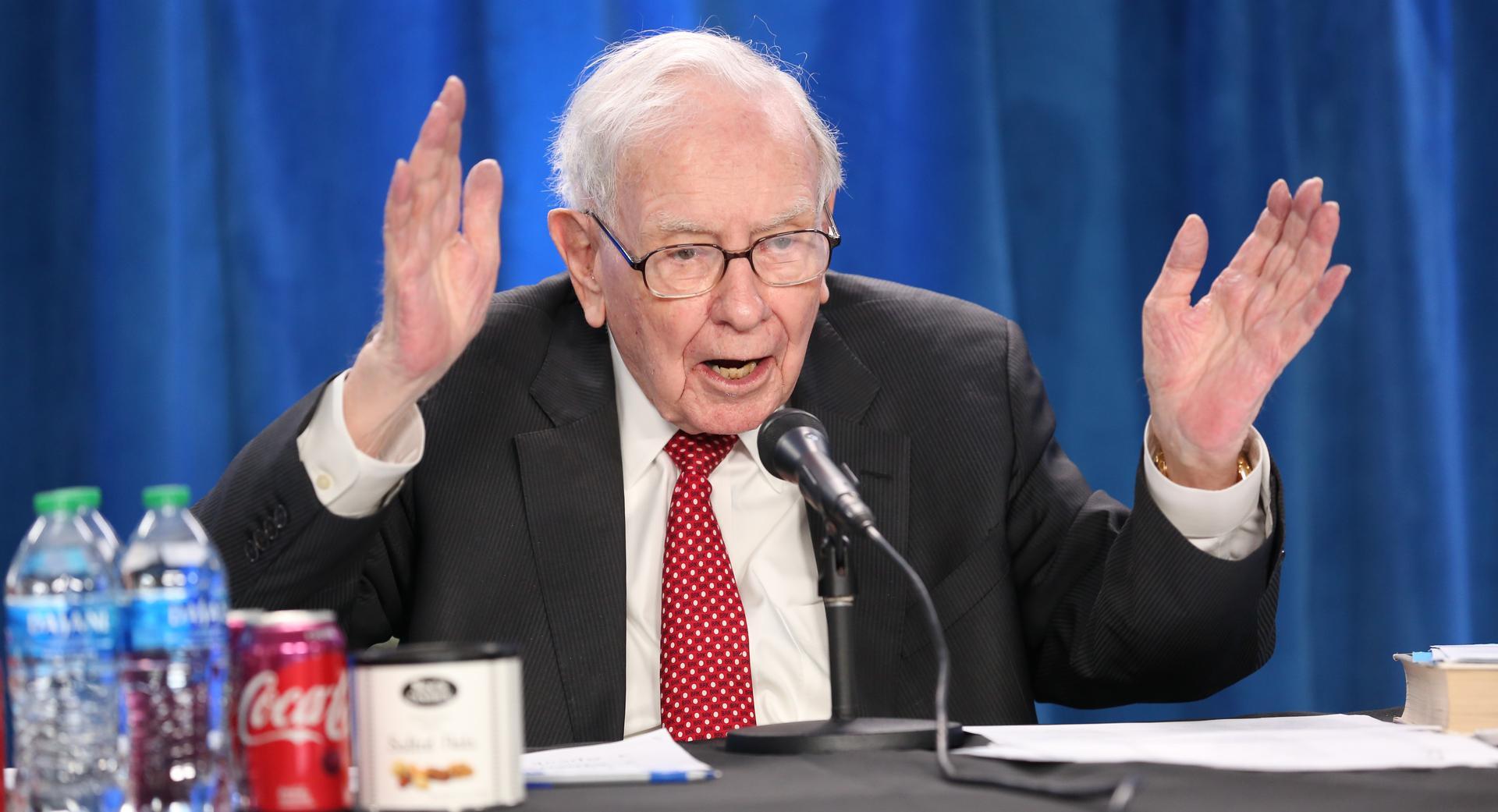 Warren Buffett - Photo: Gerard Miller | CNBC