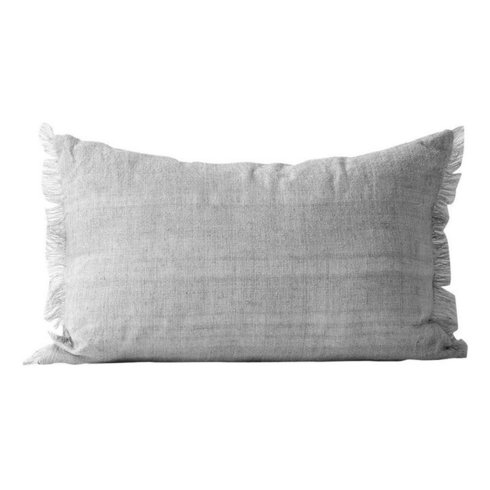 Aura vintage linen cushion