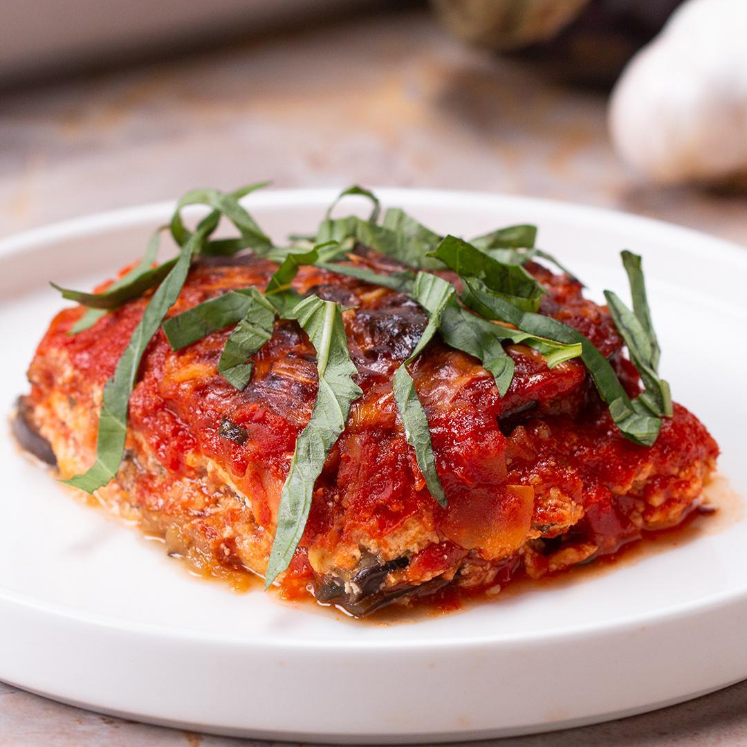 Low-Carb Eggplant Lasagna