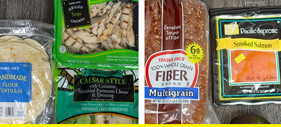 A Week's Worth Of 3-Ingredient Trader Joe's Lunches You Can Make On A Budget