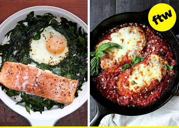 25 One-Skillet Dinner Ideas That Are Easy And Tasty