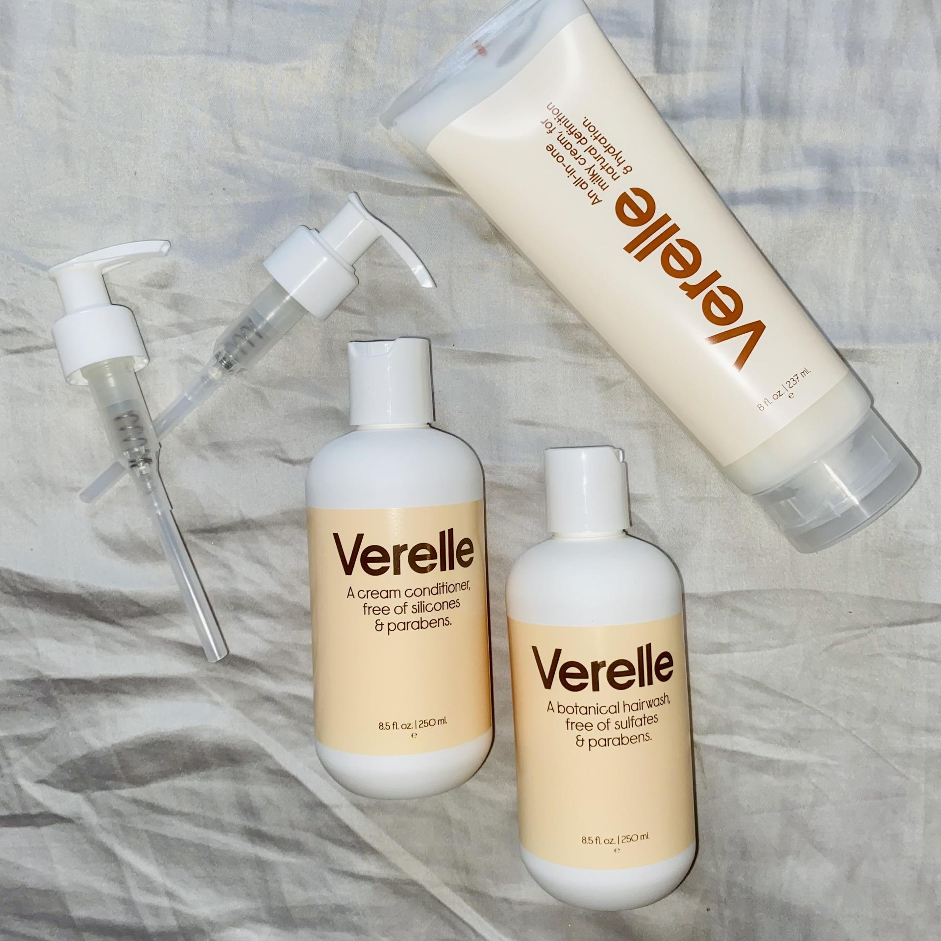 Verelle 3-Step Curly Set