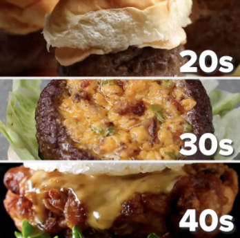 Burgers To Make In Your 20s, 30s, 40s