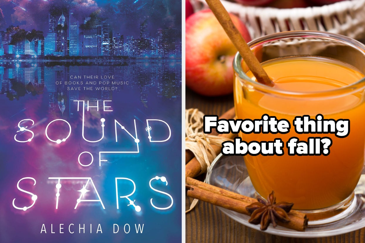 left: cover of ''the sound of stars'' right: