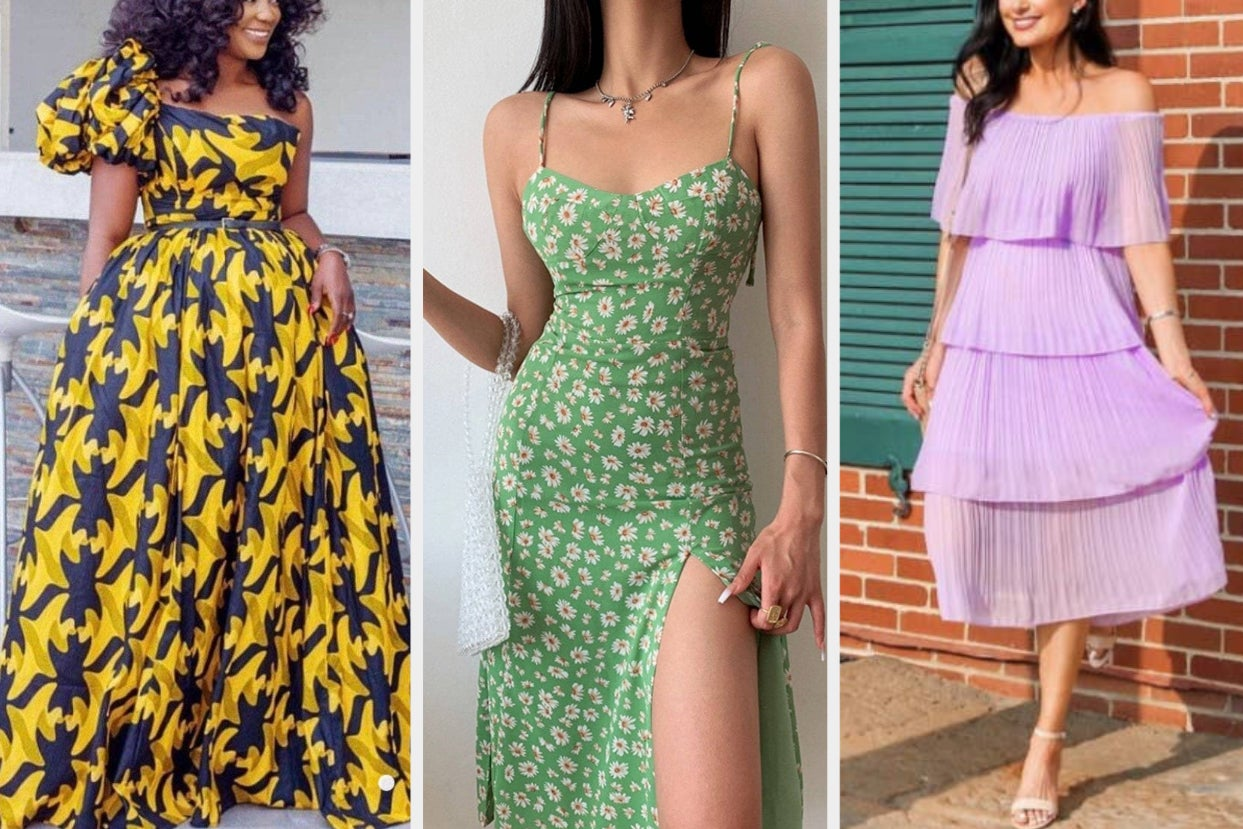 37 Longer Dresses You Can Comfortably Lounge In While Serving Up Almost Too Much Fashion