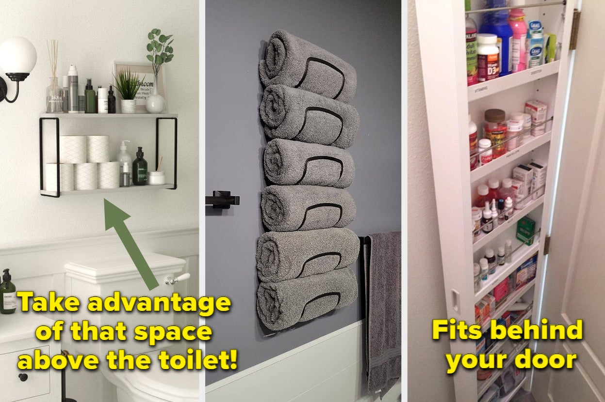 27 Products If Your Bathroom Has Practically Zero Storage Space