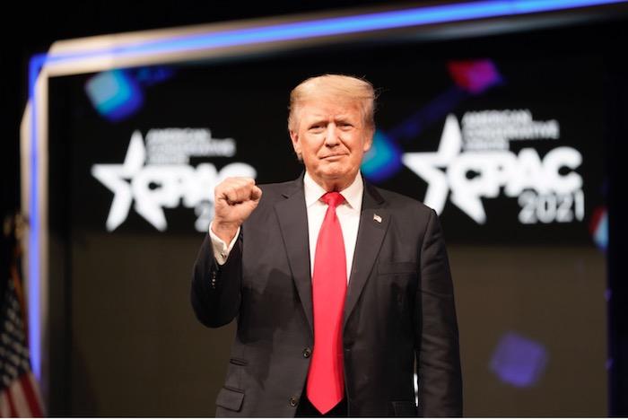 Ivanka Trump and Donald Trump Jr. cut the ribbon at the Trump International Hotel in Washington on October 26, 2016, with Donald Trump, Melania Trump, Eric Trump, and Tiffany Trump.