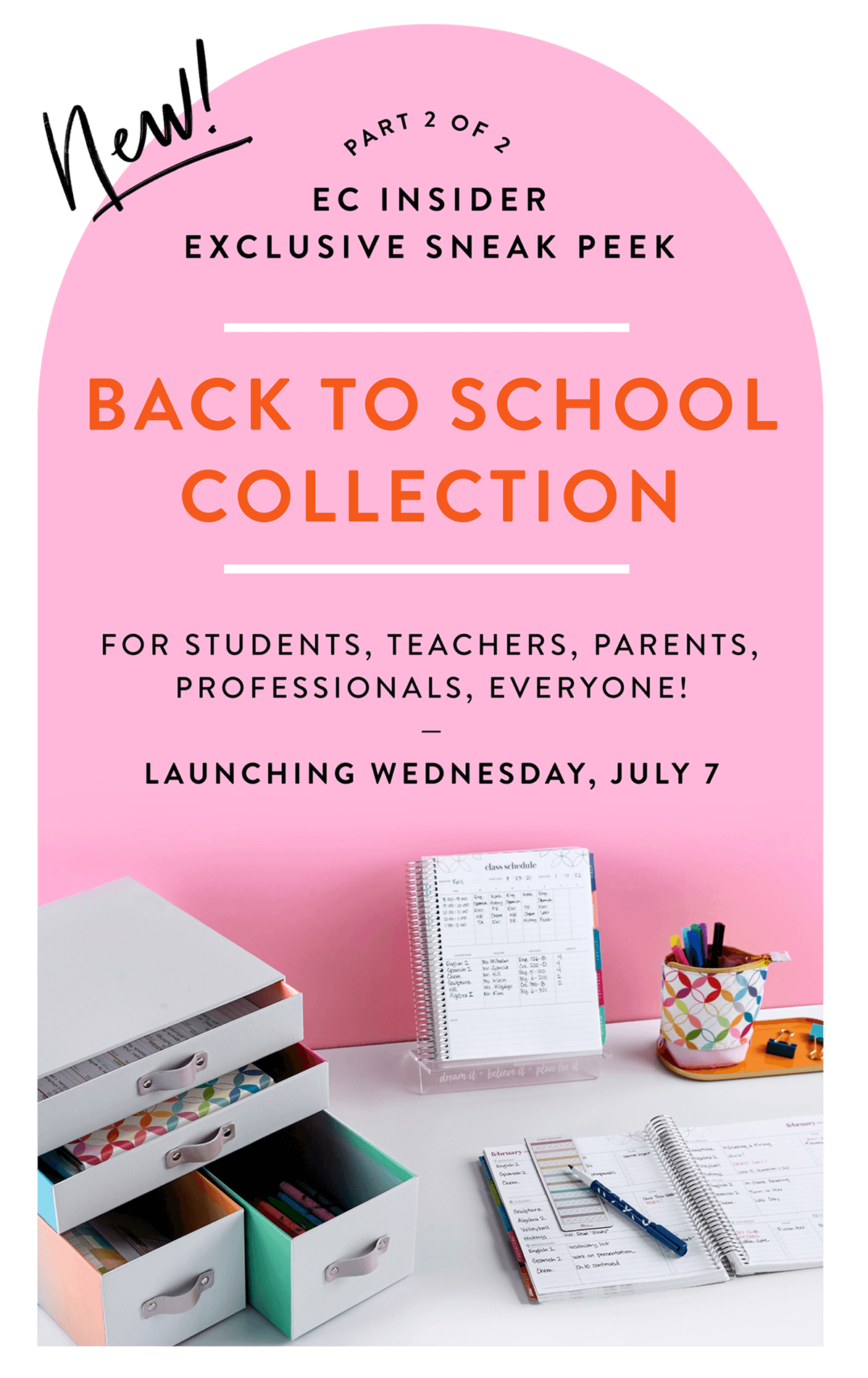 NEW Back to School Collection