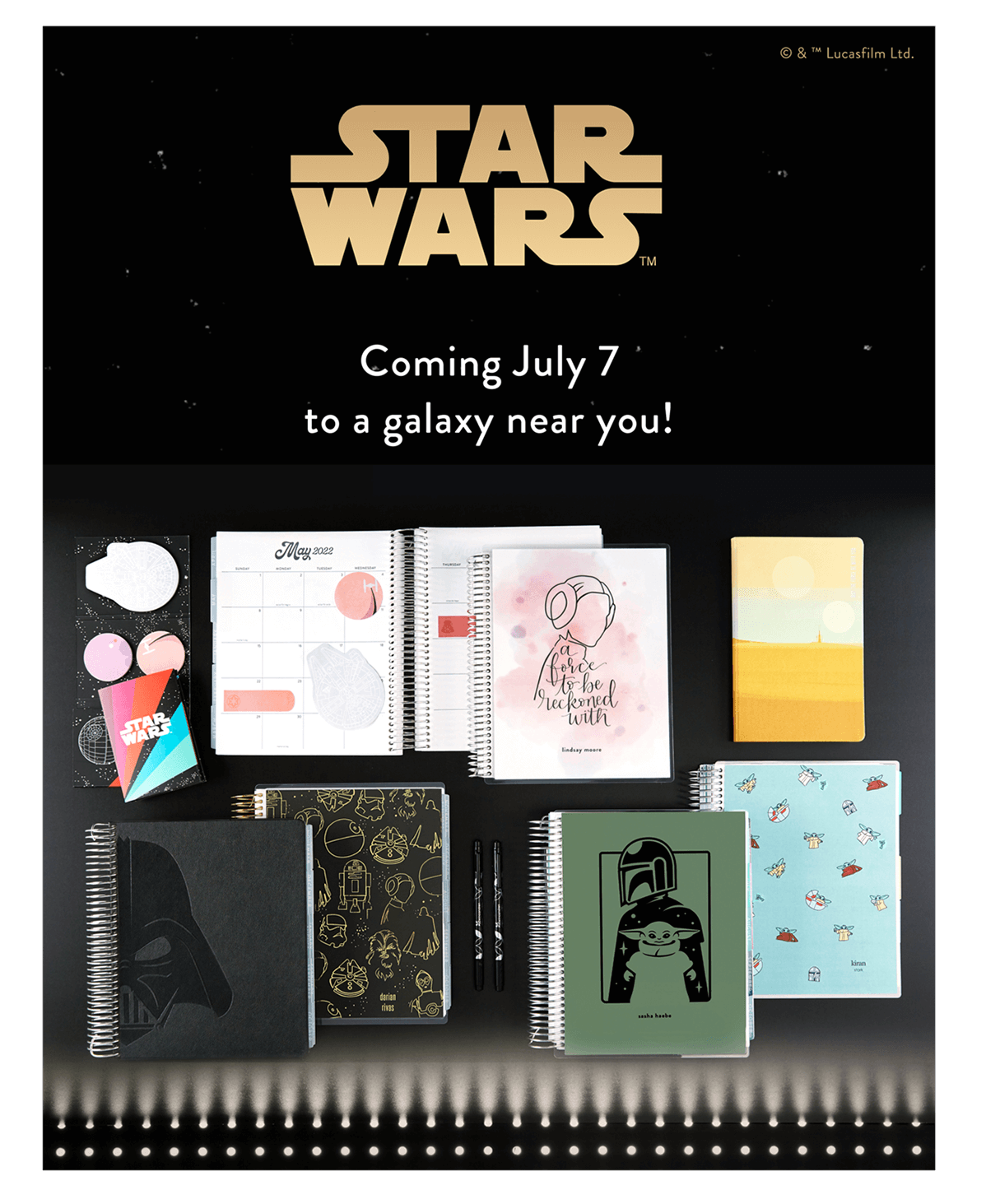 New Star Wars Collection, Coming July 7