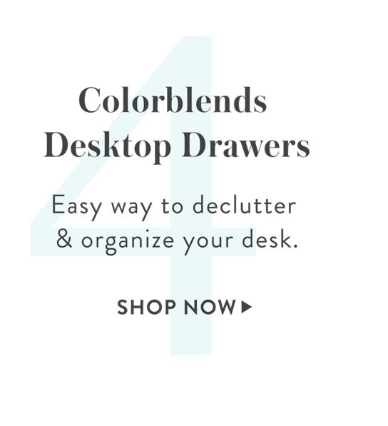 4: Desktop Storage Drawers, SHOP >
