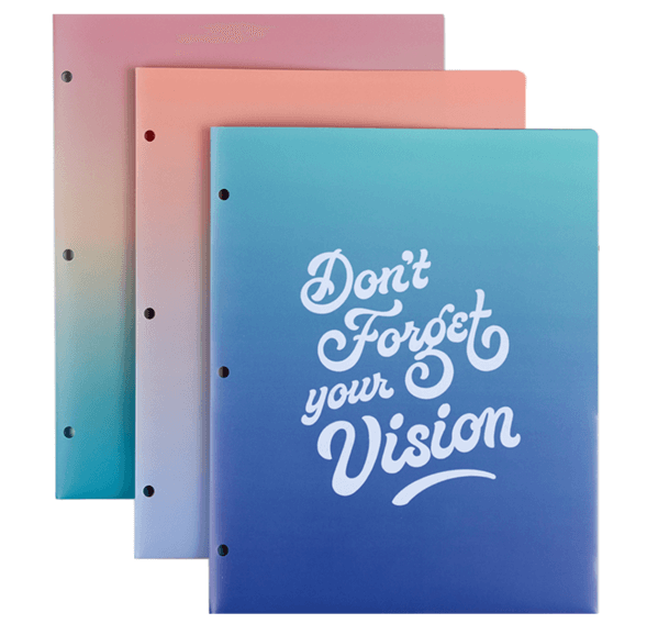 7: Just My Type Poly Folders, SHOP >
