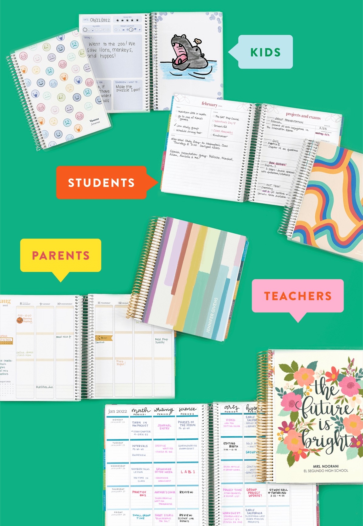 Planners for All, SHOP NOW >