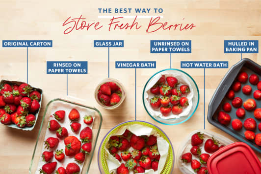 We Tried 7 Methods for Storing Berries and the Winner Outlasted Them All