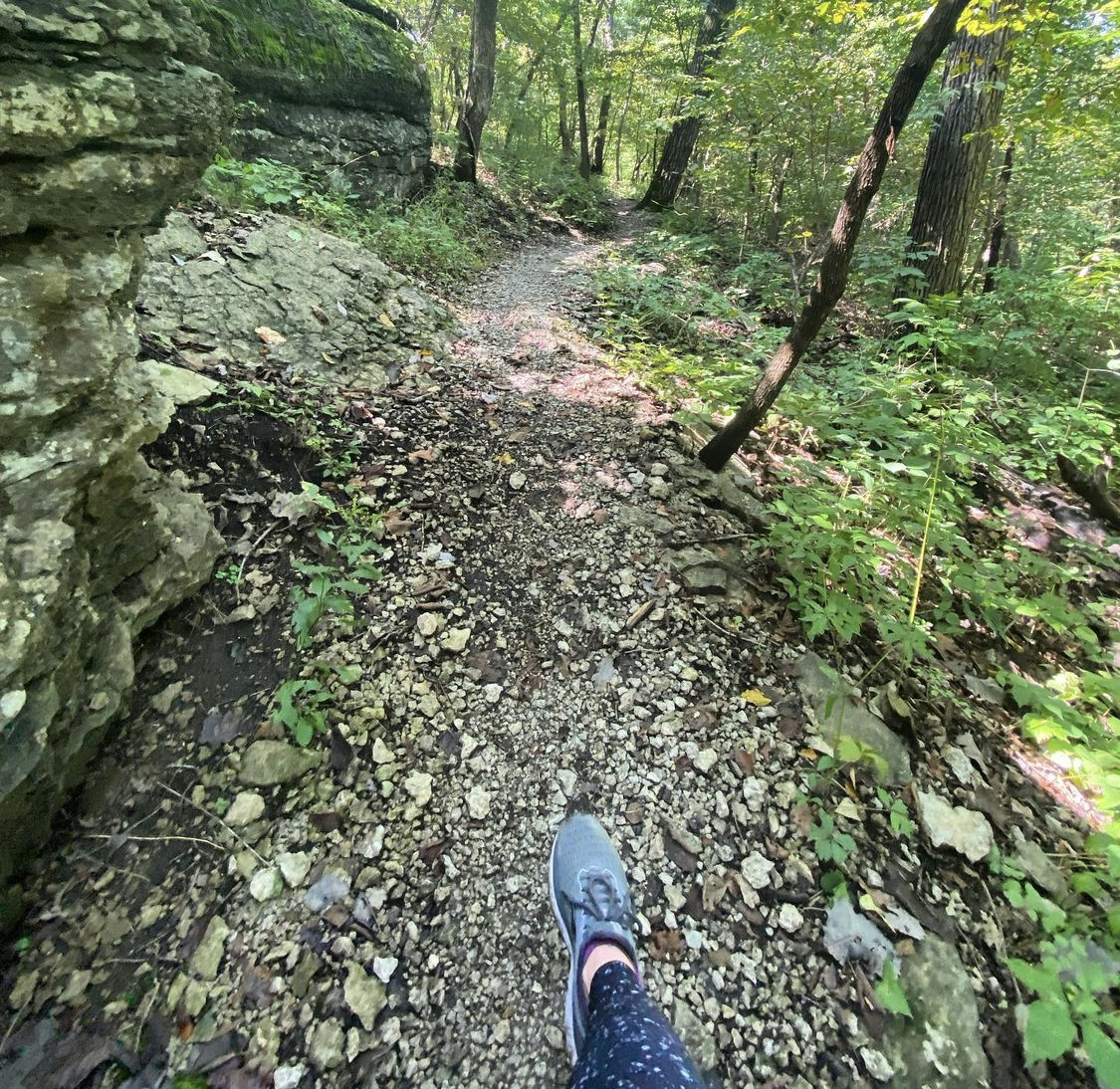 Picture of Swope Park hiking by @thecaitlinbrice