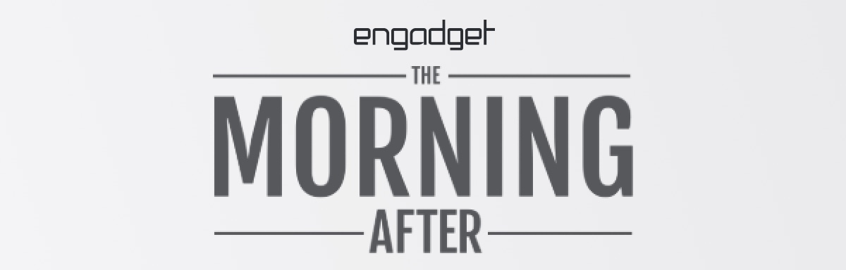 Engadget The Morning After logo